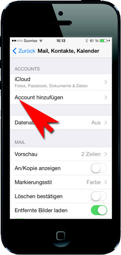 imap on iphone screenshot 01